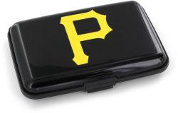 PIRATES (BLACK) RFID ALUMINUM WALLET (OC)