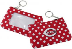 REDS (RED) COIN PURSE KEYCHAIN