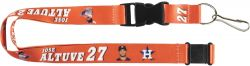 ASTROS (ALTUVE) PLAYER ACTION LANYARD