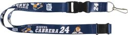 TIGERS (CABRERA) PLAYER ACTION LANYARD