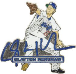 DODGERS KERSHAW SIGNATURE PIN