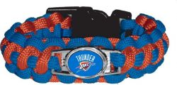 THUNDER (BLUE/ ORANGE) PARACORD BRACELET