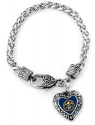 NUGGETS HEART BRACELET