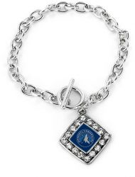 TIMBERWOLVES CRYSTAL DIAMOND BRACELET