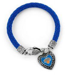 KNICKS (BLUE) BRAIDED BRACELET