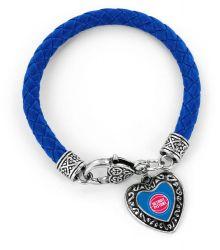 PISTONS (BLUE) BRAIDED BRACELET