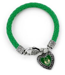 BUCKS (GREEN) BRAIDED BRACELET