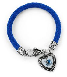 MAVERICKS (BLUE) BRAIDED BRACELET