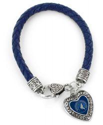TIMBERWOLVES (NAVY BLUE) BRAIDED BRACELET