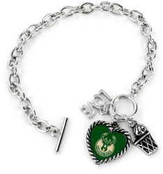 BUCKS LOVE BASKETBALL BRACELET