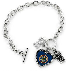 NUGGETS LOVE BASKETBALL BRACELET