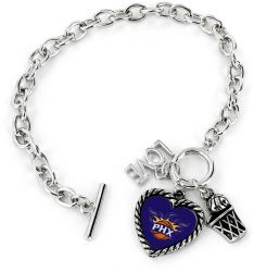 SUNS LOVE BASKETBALL BRACELET