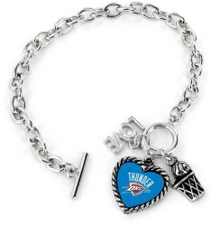 THUNDER LOVE BASKETBALL BRACELET