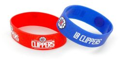 CLIPPERS WIDE BRACELETS (2-PACK)