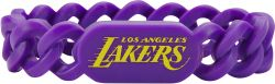 LAKERS SILICONE LINKS BRACELET