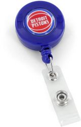 PISTONS RETRACTABLE BADGE HOLDER BLUE (NE)