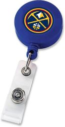 NUGGETS RETRACTABLE BADGE HOLDER BLUE (NE)