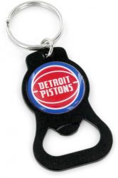 PISTONS (BLACK) BOTTLE OPENER KEYCHAIN