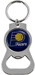 PACERS BOTTLE OPENER KEYCHAIN