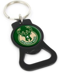 BUCKS (BLACK) BOTTLE OPENER KEYCHAIN