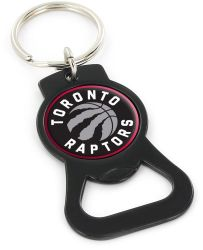 RAPTORS (BLACK) BOTTLE OPENER KEYCHAIN