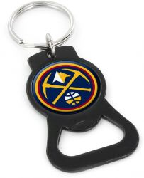 NUGGETS (BLACK) BOTTLE OPENER KEYCHAIN
