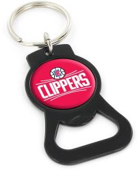 CLIPPERS (BLACK) BOTTLE OPENER KEYCHAIN