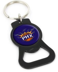 SUNS (BLACK) BOTTLE OPENER KEYCHAIN