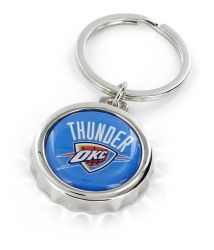 THUNDER BOTTLE CAP BOTTLE OPENER KEYCHAIN