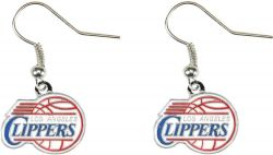 CLIPPERS LOGO DANGLER EARRINGS