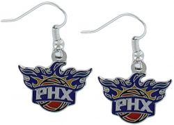 SUNS LOGO DANGLER EARRINGS