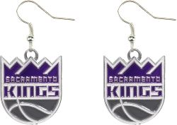 KINGS LOGO DANGLER EARRINGS