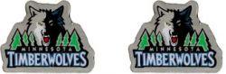 TIMBERWOLVES TEAM POST EARRINGS - DNO