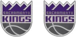KINGS TEAM POST EARRINGS