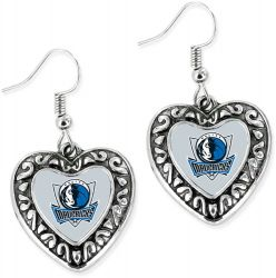 MAVERICKS HEART EARRINGS