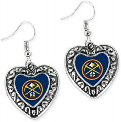 NUGGETS HEART EARRINGS