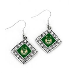 BUCKS CRYSTAL DIAMOND EARRINGS