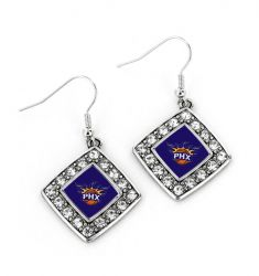 SUNS CRYSTAL DIAMOND EARRINGS