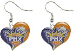 SUNS SWIRL HEART EARRINGS