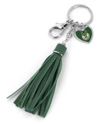 BUCKS (GREEN) TASSEL KEY CHAIN/PURSE CHARM (OC)