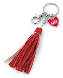 CLIPPERS (RED) TASSEL KEY CHAIN/PURSE CHARM (OC)