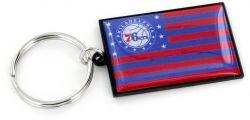 76ERS AMERICANA FLAG KEYCHAIN