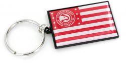HAWKS AMERICANA FLAG KEYCHAIN