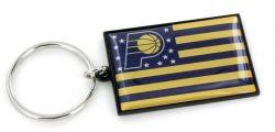 PACERS AMERICANA FLAG KEYCHAIN