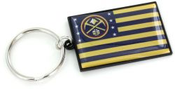 NUGGETS AMERICANA FLAG KEYCHAIN