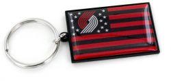 TRAIL BLAZERS AMERICANA FLAG KEYCHAIN