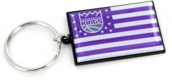 KINGS AMERICANA FLAG KEYCHAIN