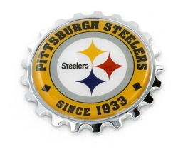 STEELERS SEMI 3D METAL STICK ON EMBLEM