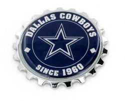 COWBOYS SEMI 3D METAL STICK ON EMBLEM
