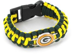 PACKERS (DARK GREEN/ YELLOW) PARACORD BRACELET